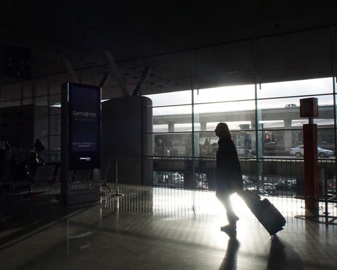 paris airport after terrorism